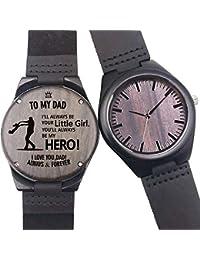 8999c20c21b1 Reloj de Madera Grabado Personalizado
