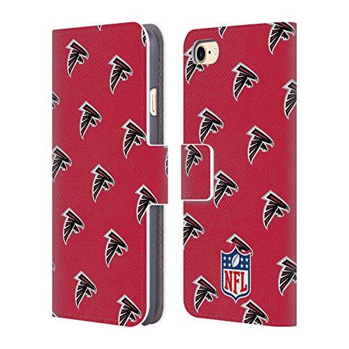 Ufficiale NFL Marmo 2017/18 Atlanta Falcons Cover a portafoglio in pelle per Apple iPhone 6 / 6s Pattern