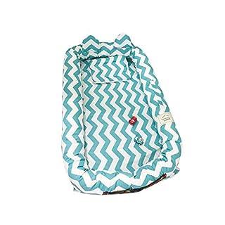 xluckx Petit lit de bébé Portable de bébé en Coton de Dessin animé Frais et Simple Respirant et hypoallergénique lit de bébé lit de bébé Portable lit de bébé pour Chambre/Voyage