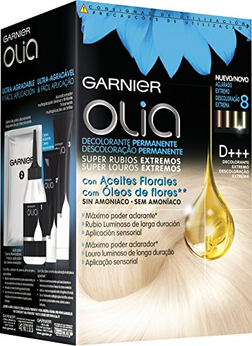 Garnier Olia Coloración Permanente sin Amoniaco, D+++ Decolorante