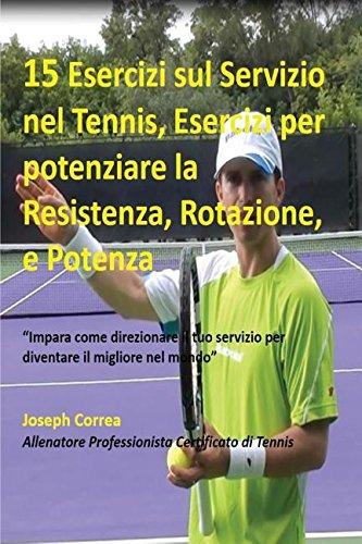 15 Esercizi sul Servizio nel Tennis, Esercizi per potenziare la Resistenza, Rotazione, e Potenza: