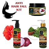 The EnQ Anti Hair Fall Kit 450g || The EnQ Onion Hibiscus Shampoo