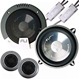 "Inex Fli FI6COMP 6.5"" 17cm Car Audio Components Door/Dash/Shelf Speakers 255w"
