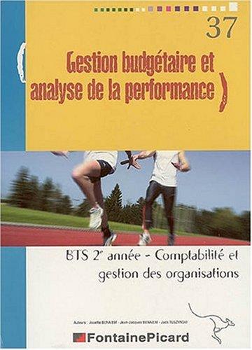 Gestion budgétaire et analyse de performance BTS CGO 2e année