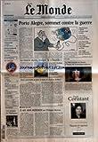 Telecharger Livres MONDE LE No 18040 du 24 01 2003 SUPPLEMENT BD A ANGOULEME HOMMAGE A REISER NOUVEAUTES EN POCHE COTE D IVOIRE COMBATS ET NEGOCIATIONS FRANCE ALLEMAGNE LES CELEBRATIONS DU 40E ANNIVERSAIRE VU LA TELEVISION PAYS BAS VERS UN GOUVERNEMENT DE CENTRE GAUCHE JEU CONCOURS UN WEEK END POUR DEUX A ROME BUDGET LA DERIVE DES DEFICITS JUSTICE INQUIETUDES POUR LES DROITS DE LA DEFENSE ET NOTRE EDITORIAL OGM LES MAIRES QUI VEULENT LES INTERDIRE AUT (PDF,EPUB,MOBI) gratuits en Francaise