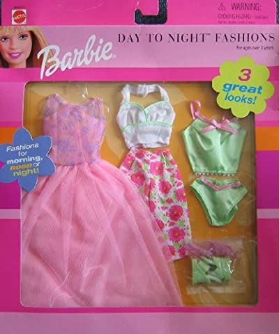 Barbie Day To Night Fashions For Morning, Noon or Night! - 3 Great Looks! (2000)