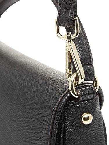 Guess - Sac à main Isabeau (hwisab p7169) taille 18 cm Black (Noir)