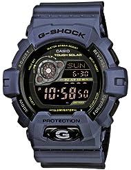 Casio GR-8900NV-2ER - Reloj digital de cuarzo para hombre con correa de resina, color azul