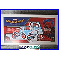 """Dino Bikes 123GLN-SPH Marvel Spider-Man Homecoming 12"""" Bicycle, Multi-Colour, 40 x 40 cm"""