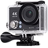 Mobile Gear 4K Ultra HD 12 MP Wifi Waterproof Digital Action Camera & Sports Camcorder With Accessories