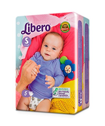 Libero Small Open diaper (5 Counts)  available at amazon for Rs.55