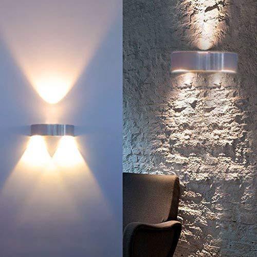 Auralum® Elegent 3W 300LM LED Wandleuchte Warmweiss 2800-3200K -