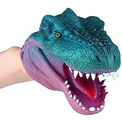Depesche Dino World Marioneta de mano, diseño de dinosaurio