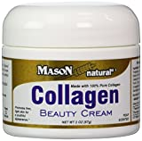 Mason Vitamins Collagen Beauty Cream 100% Pure Collagen Pear Scent, 2-Ounce Jars (Pack of 2) by Mason Vitamins