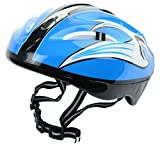 #7: GENRIC Plastic Helmet for Bicycling/ Skating (Blue and Black)