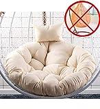 Amaca da Appendere a Forma di Uovo Senza Supporto, Cuscino per Sedia a Dondolo Spesso da Appendere (escluso Il Cestino) Style8