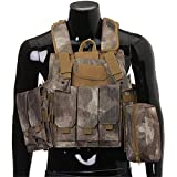 SaySure - Tactical Vest Airsoft Paintball Combat Vest W/Magazine...