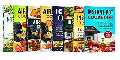 Instant Pot Recipes Cookbook: Instant Pot Recipe books and Air Fryer Recipe Books (Instant Pot Pressure Cooker Books)