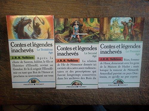 Contes et légendes inachevés J.R.R. Tolkien premier second troisième âge