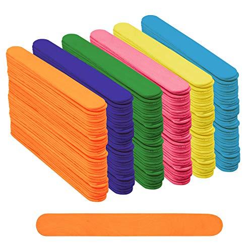 Pack 300 Palitos Helado Colores para Manualidades Proyectos del Hogar por Belle VousEste gran pack de palitos de madera serán útiles en su hogar. Se pueden usar en su estudio de arte o habitación de manualidades para proyectos con madera. Usted elige...