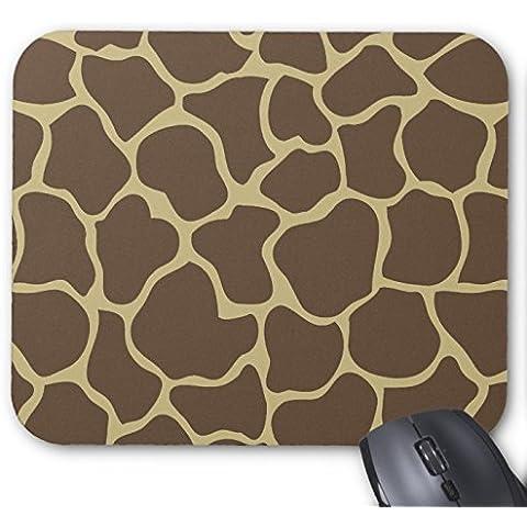Giraffe Print - Khaki and Brown Animal