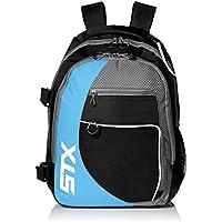 STX Lacrosse Sidewinder Lacrosse mochila, negro/Columbia