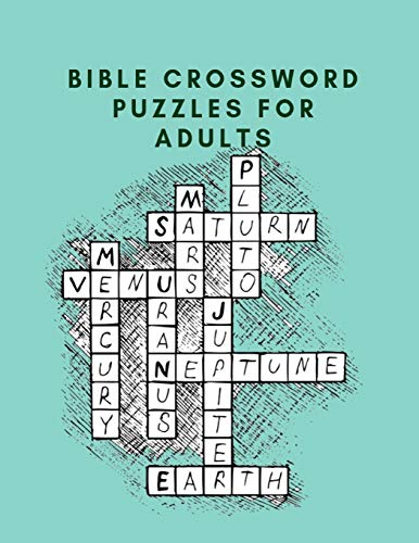 Bible Crossword Puzzles For Adults: Crossword Puzzle Dictionary 2019 Paperback , Worlds Biggest Crossword , Easy Crossword Puzzle Books For Adults Large Print