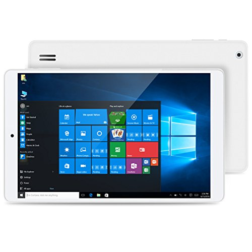 Teclast X80 Pro - 8 Zoll Tablet PC Windows 10 Android 5.1 Dual System (Intel Cherry Trail Z8350 1.92GHz Quad-Core Prozessor, 2GB RAM, 32GB ROM, Dual Kamera, Blutooth, WIFI)