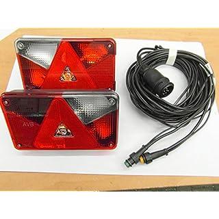 AVB Paket Aspöck Multipoint 5 RL li & re mit RFS mit Kabel 13 Pol 7 m m. Abgang