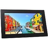 Rollei Pissarro DPF-130 Full HD digitaler Multi-Media Bilderrahmen, 4 GB interner Speicher, 13,3 Zoll (33,97 cm) schwarz