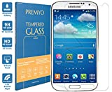 PREMYO verre trempé S4 mini. Film protection Galaxy S4 mini avec un degré de dureté de 9H et des angles arrondis 2,5D. Protection écran S4 mini