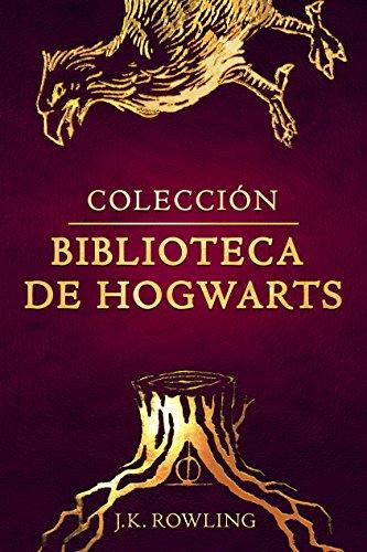 Colección biblioteca de Hogwarts (Un libro de la biblioteca de Hogwarts) por J.K. Rowling