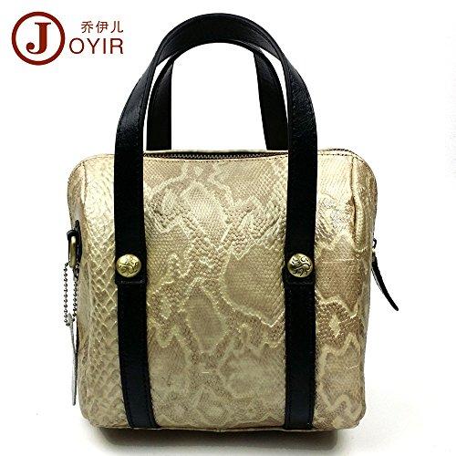 LongBao la pelle nuova borsa donna _ in pelle elegante borsa donna femmina spalla manuale è una gentildonna ,8219 marea Golden 8219 Golden