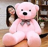 B-kreativer großer Teddybären-Riese Teddy trägt große Weiche Plüsch-Spielzeug Kids UK Stock Pink, 80cm