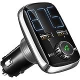 Best Récepteurs de voitures - (Nouvelle Version) Transmetteur de FM Bluetooth de Voiture Review