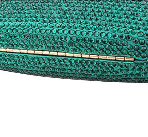NBWE Europäische und amerikanische handgemachte Abendtasche High-End Diamant Bankett Abendtasche Schultertasche Messenger Bag -