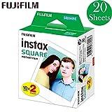 Papel para Instax SQ10 SQ6 SQ20 Cámara Instantánea Comparta SP-3 Impresora Fujifilm Instax Square Film Blanco/Negro Edge Foto