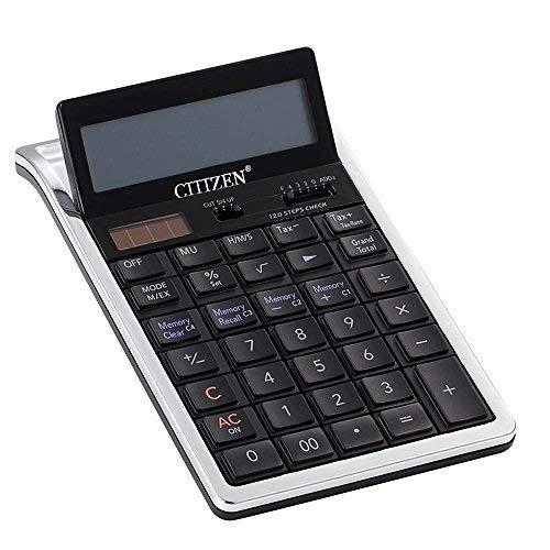 YNXing Tischrechner Solar-Dual-Power Rechner12 Große Display-Rechner Kann für Büro- Geschäfts- Banken Steuersätze etc. Verwendet Werden.