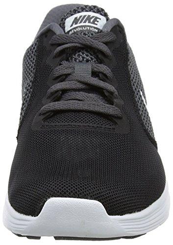 Nike Revolution 3, Scarpe Running Donna Multicolore (negro / Blanco-gris Oscuro-antracita)