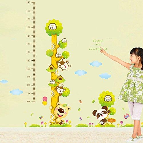 Cartoon Animali Bambini tabella di sviluppo di