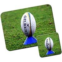 Palla da Rugby World Cup Team-Tappetino/Pad per Mouse e Set