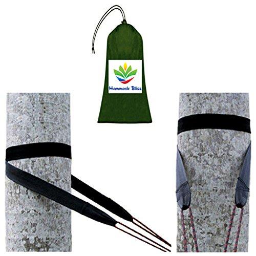 Hammock Bliss Tree Straps - Befestigungsgurte zum ein-fachen Aufhängen jeder Hängematte