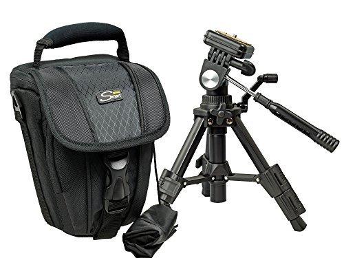 Foto Kamera Tasche ADVENTURE ZOOM mit Reise Stativ für Canon EOS 1300D 1200D 750D 760D 700D 100D 80D