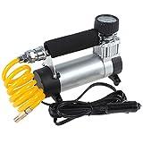 Epathchina®, pompa di gonfiaggio portatile, 12 volt, pressione massima: 9,65 bar, corrente massima: 14A, 35l/minuto, professionale, resistenze, per veicoli, compressore speciale progettato auto