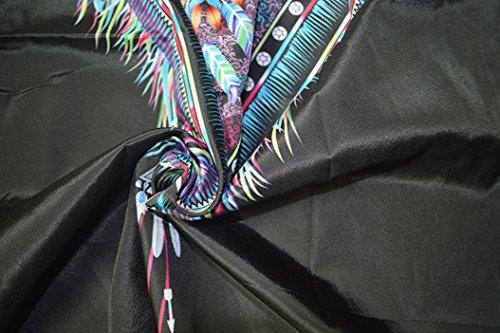 Boho Sommer Strandkleider Und Druckkleider Rundhals Partykleid ärmellos Blusenkleider Schulterfreies Minikleid Loose Freizeitkleider Schwarz