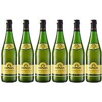 Zapiain Sidra Nature de 7º - Paquete de 6 botellas de 75 - Total 450 cl