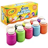 Crayola 10 Count Washable Neon Paint Colors