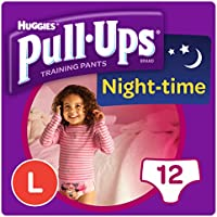 Huggies Pull-Ups Night Time Large Potty Training Pants for Girls - ukpricecomparsion.eu