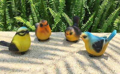 treasure-house Kunstharz Birds Set Creative Reginald Ornaments Garden Birds Vivid Dekorationen für View Home Wohnzimmer Dekoration View Bird House