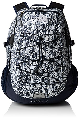 The North Face Borealis Mochila, Gris Claro/Negro, Talla Única